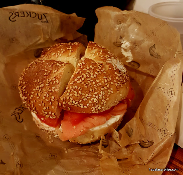 Zuckers Bagels, Nova York