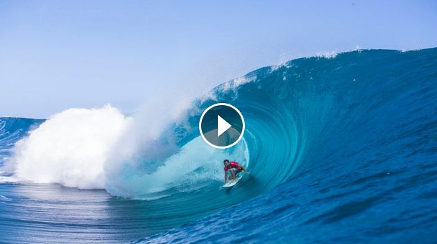 A Few of the Best Rides Ever at the Billabong Pro Tahiti