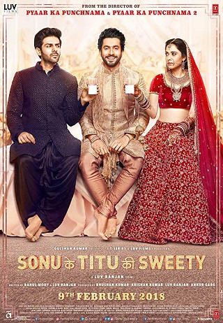 Sonu Ke Titu Ki Sweety 2018 Hindi Full Movie Download PreDVDRip 700MB Watch Online 9xmovies Filmywap Worldfree4u