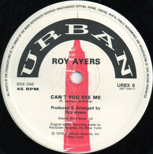 Roy Ayers - Can't You See Me (1987) 12''