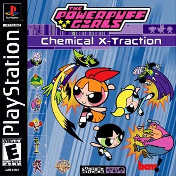 Powerpuff Girls The - Chemical X-Traction - PS1 - ISOs Download