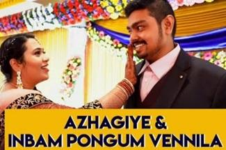 Wedding Lipdub | The Crew Dance Company | Candid Carnival | Azhagiye | Inbam Pongum Vennila