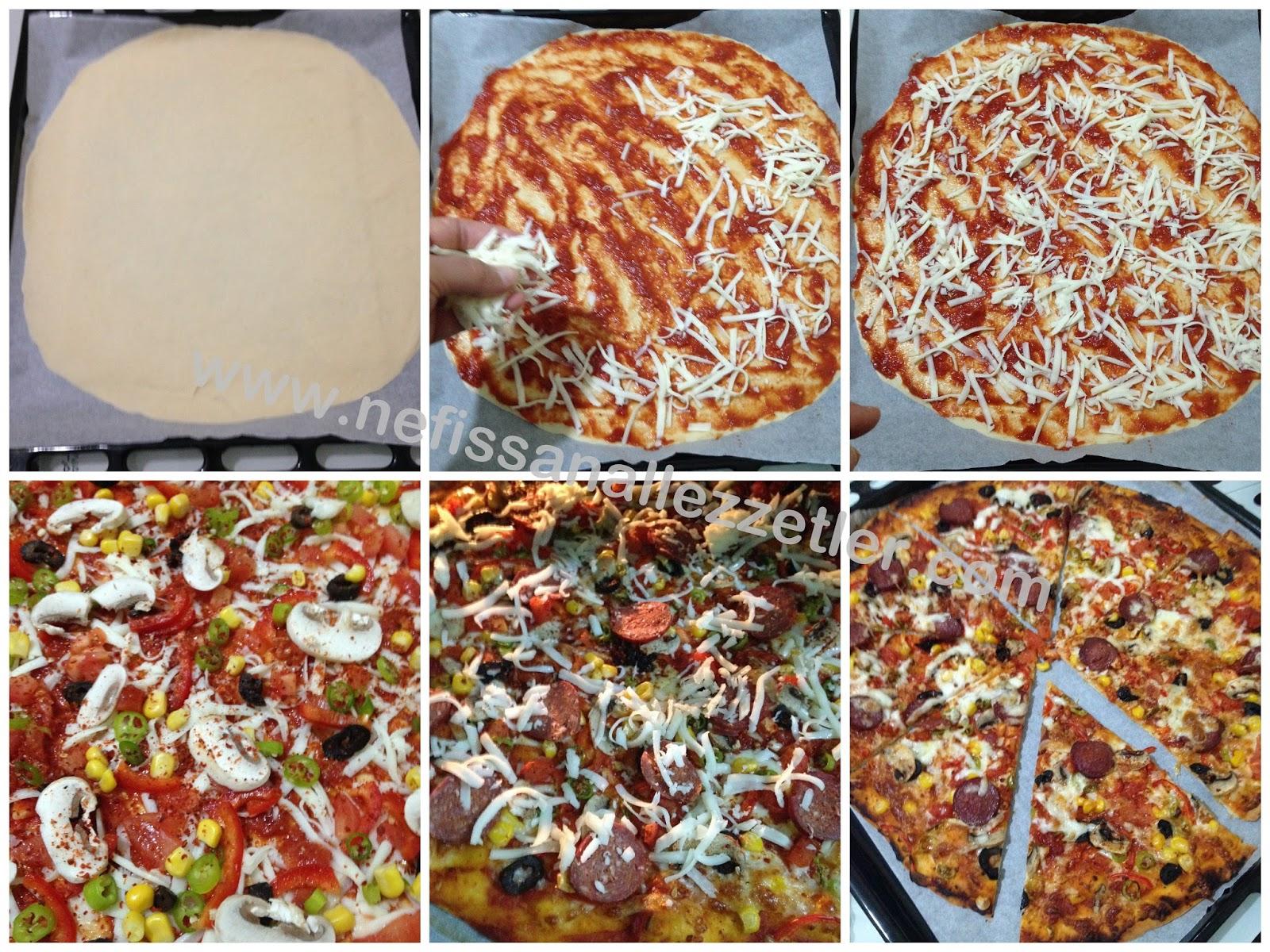 Ev Usulü İtalyan Pizza Tarifi – Pizza Tarifleri