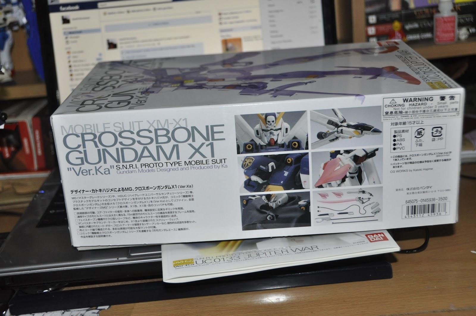 Its An Endless Waltz Gundam Review Mg 1 100 Crossbone X1 Rx78 2 Verka 114215 Other Side Of The Box