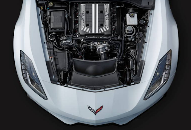 2017 Chevrolet Corvette Z06 Engine