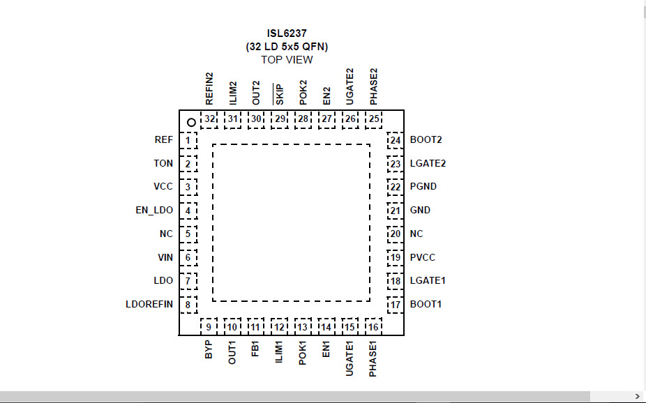 LAPTOP REPAIR TIPS: ISL6237 IC DATASHEET DOWNLOAD