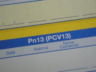 Como saber de estou vacinado contra o pneumococos (pneumonias, otites)