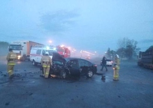 Лобовое ДТП на трассе М5: есть пострадавшие