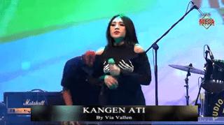 Lirik Lagu Kangen Ati (Dan Artinya) - Via Vallen