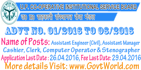 UP Seva Mandal Recruitment 2016