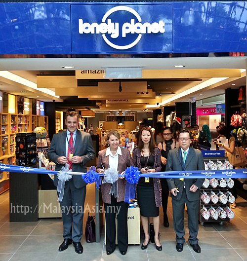 Lonely Planet Concept Store Malaysia Official Opening