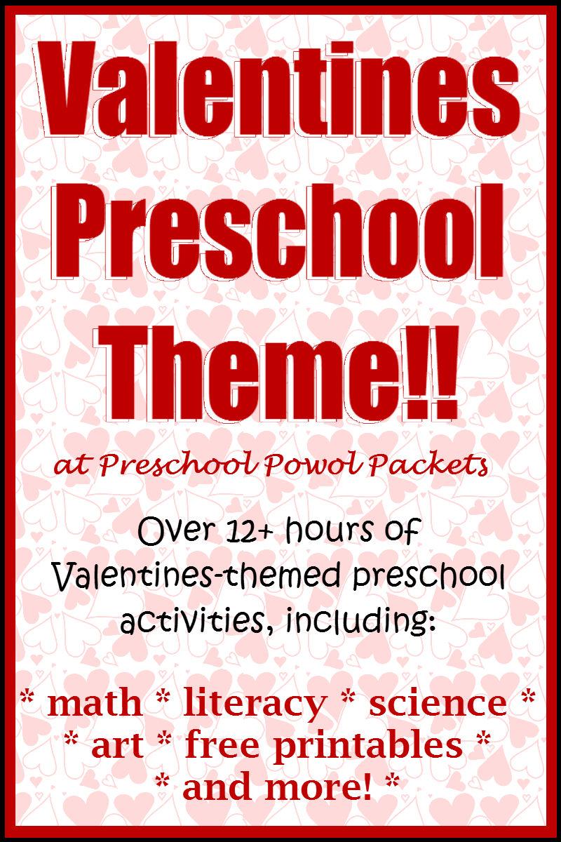valentines preschool theme preschool powol packets. Black Bedroom Furniture Sets. Home Design Ideas