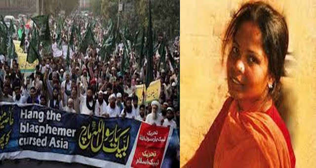 Asia bibi release case protest in lahore islamabad pakistan
