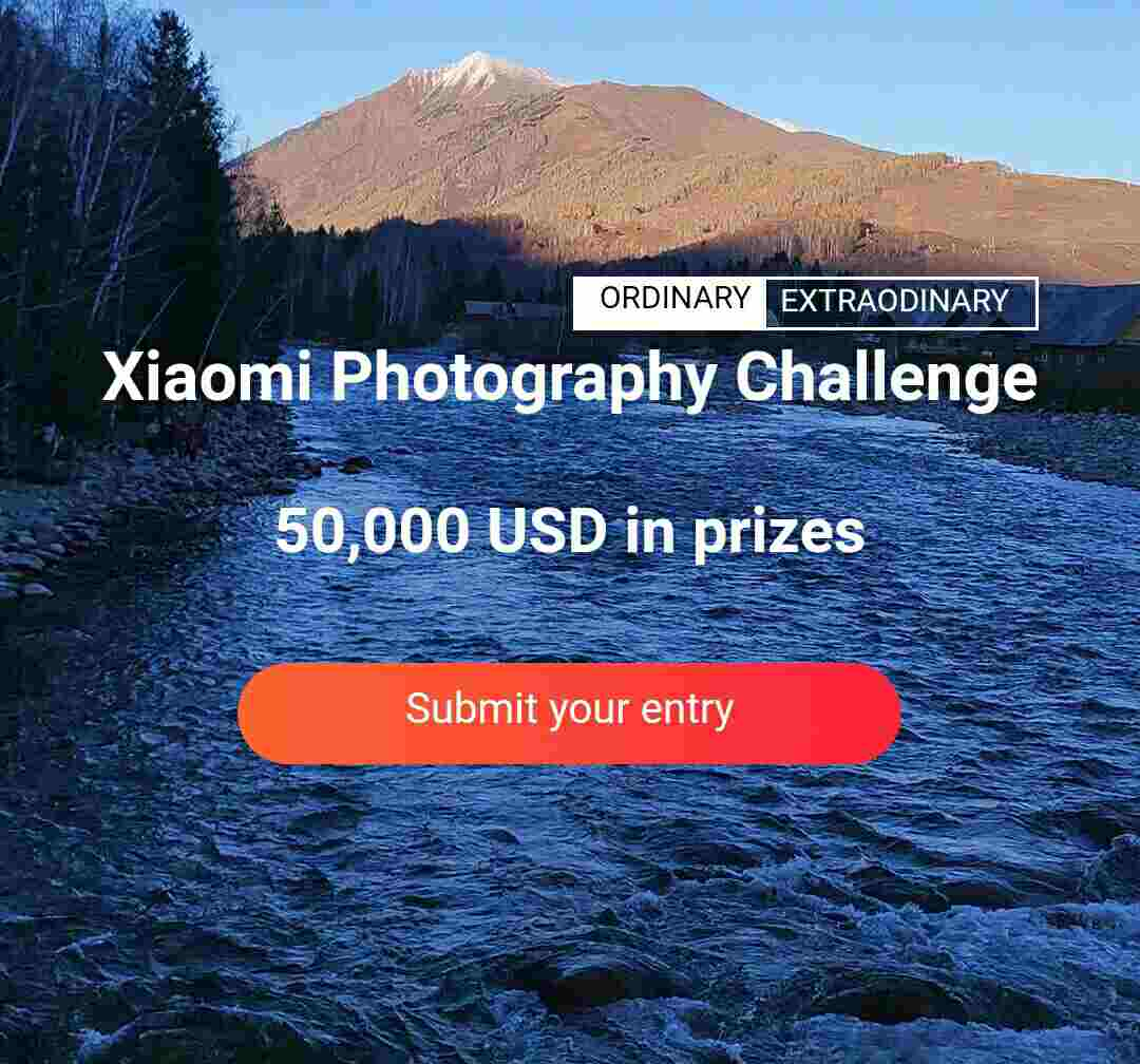 Xiaomi has announced a photography contest named as Xiaomi Photography Challenge