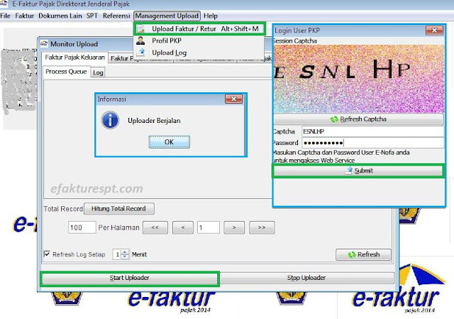 cara upload efaktur