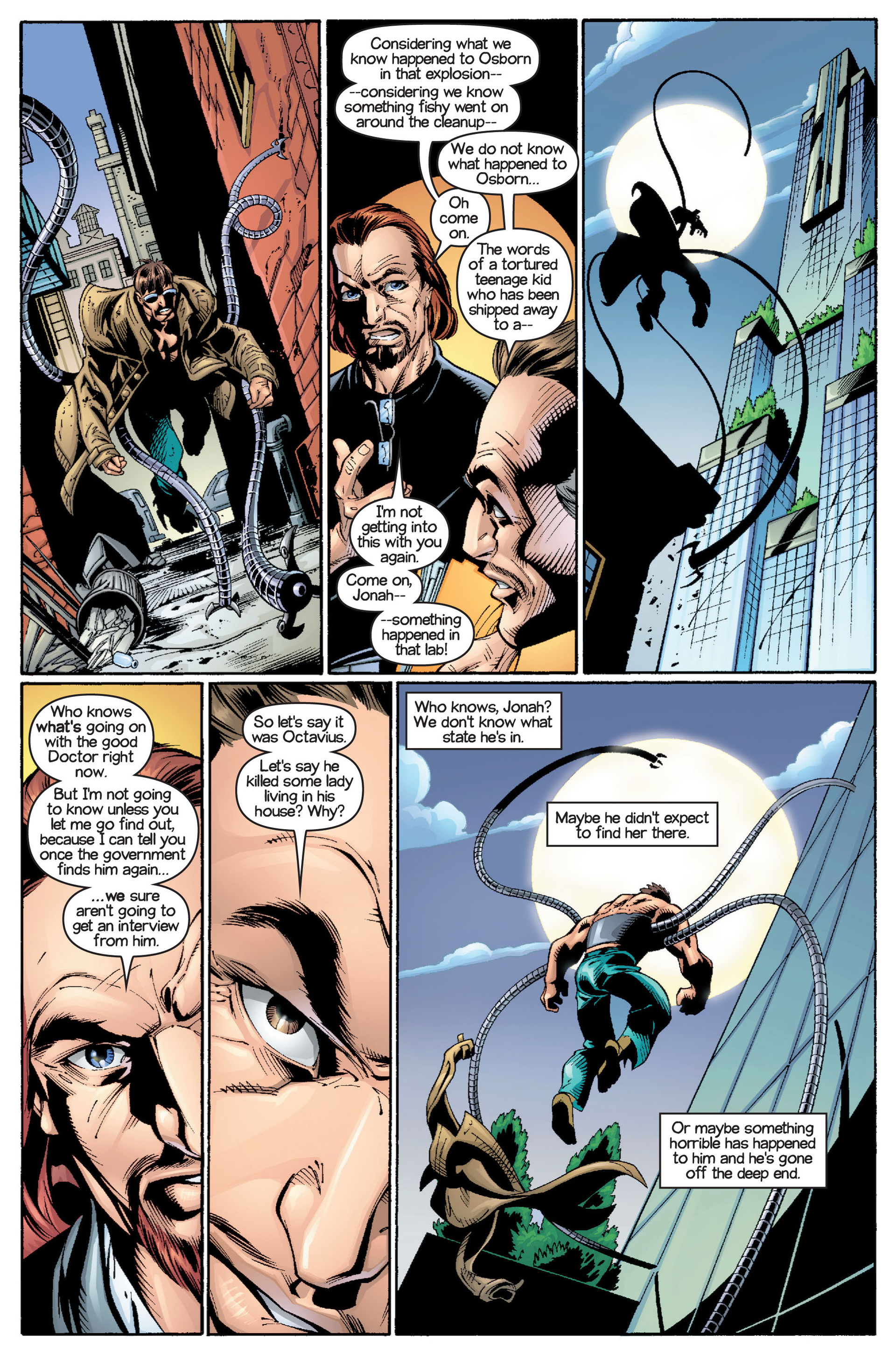 Read online Ultimate Spider-Man (2000) comic -  Issue #15 - 22
