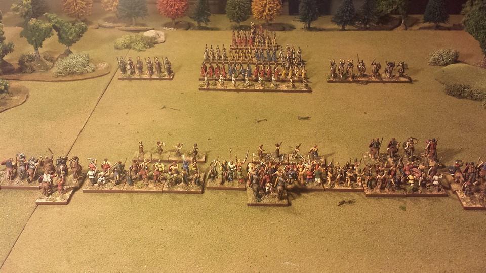 The Wall Of Shields Defense In Depth Testing L Art De La Guerre