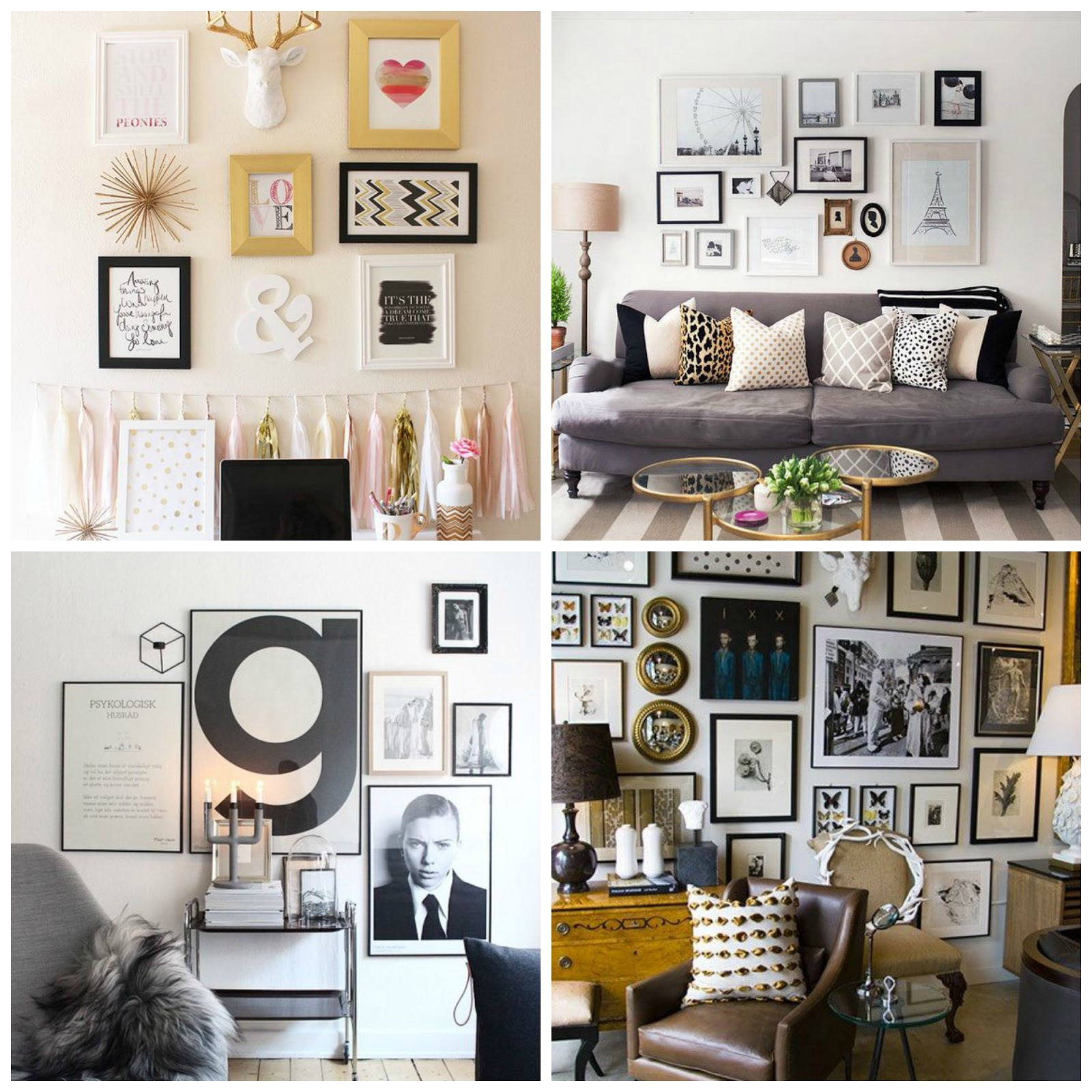 chic country girl diy home decor gallery wall beautiful wall decor