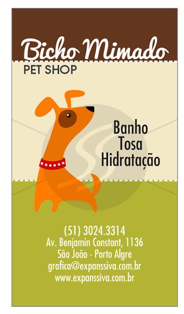 cartao de visita pet shop 18 - Cartões de Visita Pet Shop