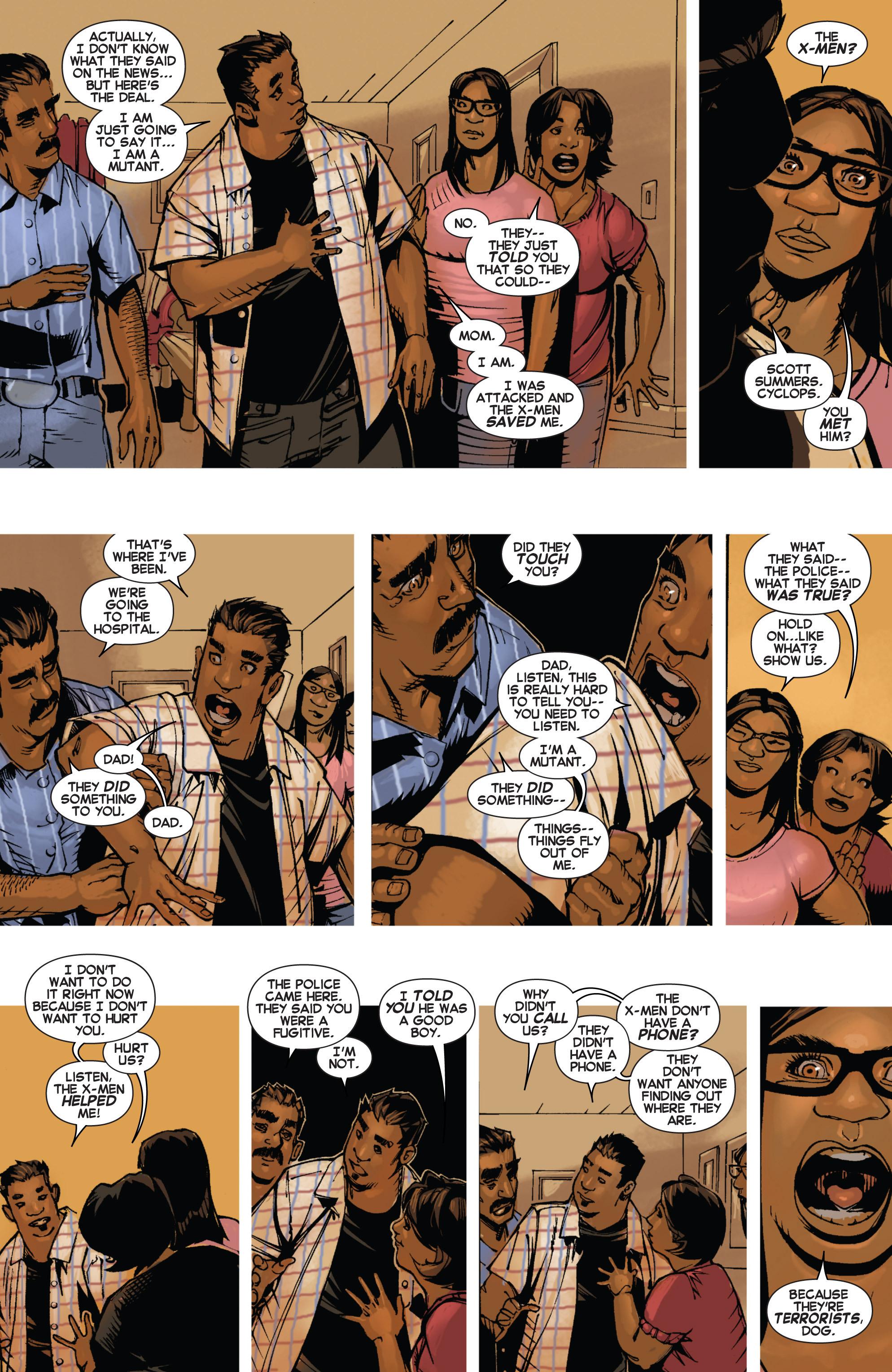 Read online Uncanny X-Men (2013) comic -  Issue # _TPB 2 - Broken - 57