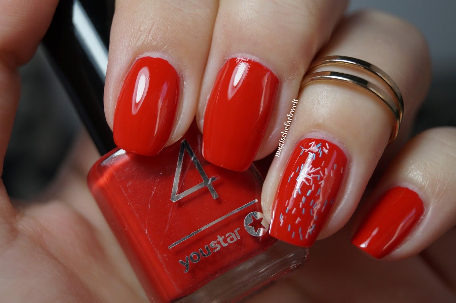 Inspirierend Nageldesign Rot Sammlung Von Ein Klassisches Auf Den Nägeln Geht Meines