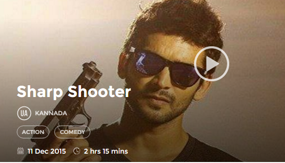 Sharp Shooter (2015) Full Kannada Movie 700Mb 300mb Free