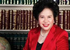 Sen. Miriam Defensor-Santiago is now feeling well