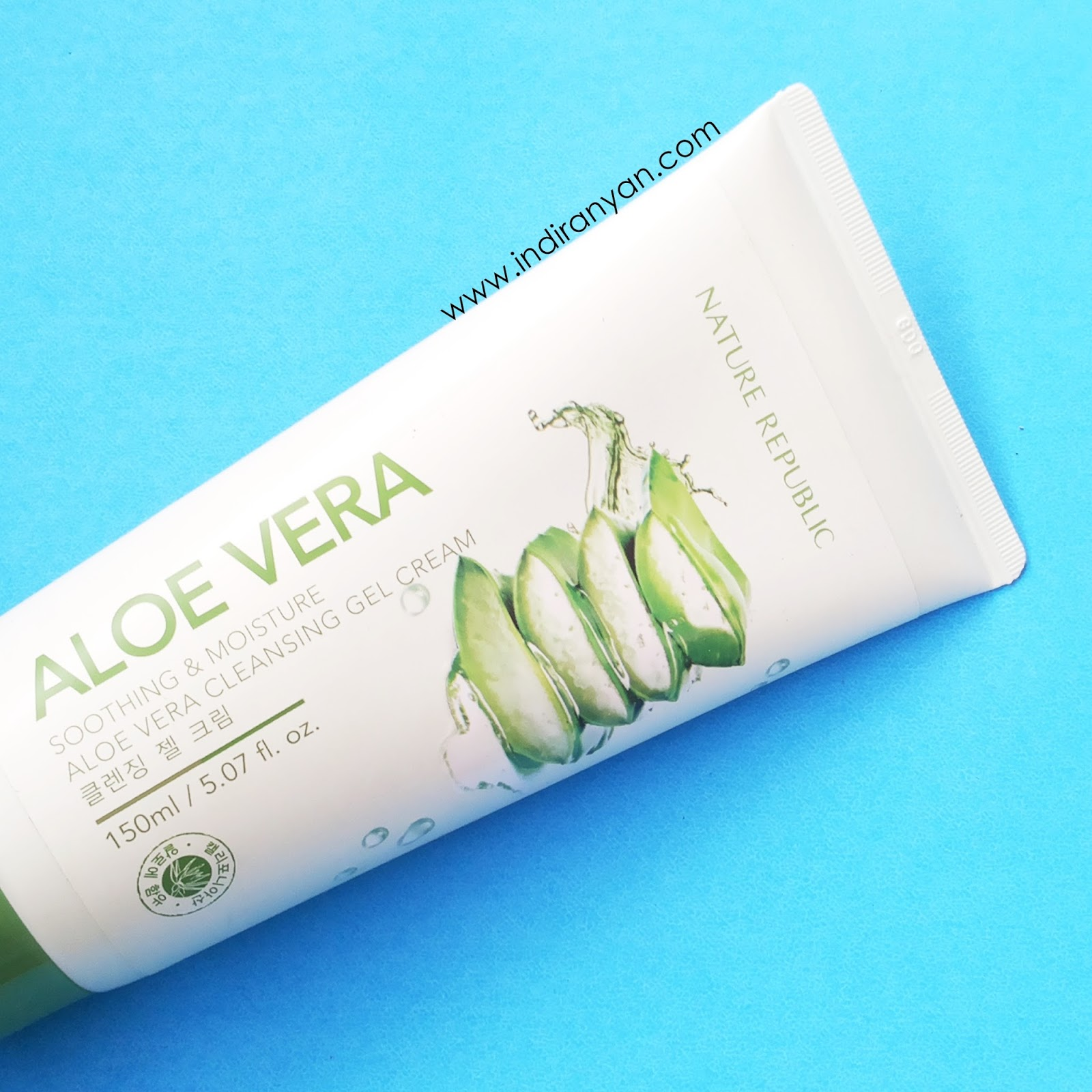 nature-republic-aloe-vera-cleansing-gel-cream, nature-republic-aloe-vera-cleansing-gel-cream-review, makeup-remover-nature-republic