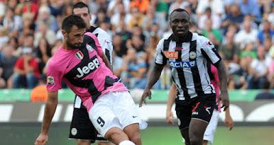 Udinese empata 1 a 1 contra Juventus