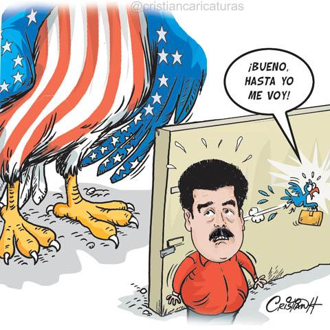 Resultado de imagen para Caricaturas de Maduro
