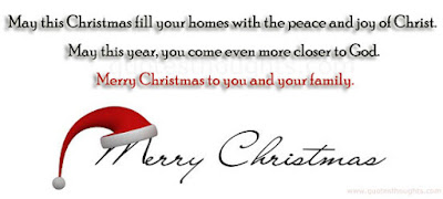 merry christmass to your family