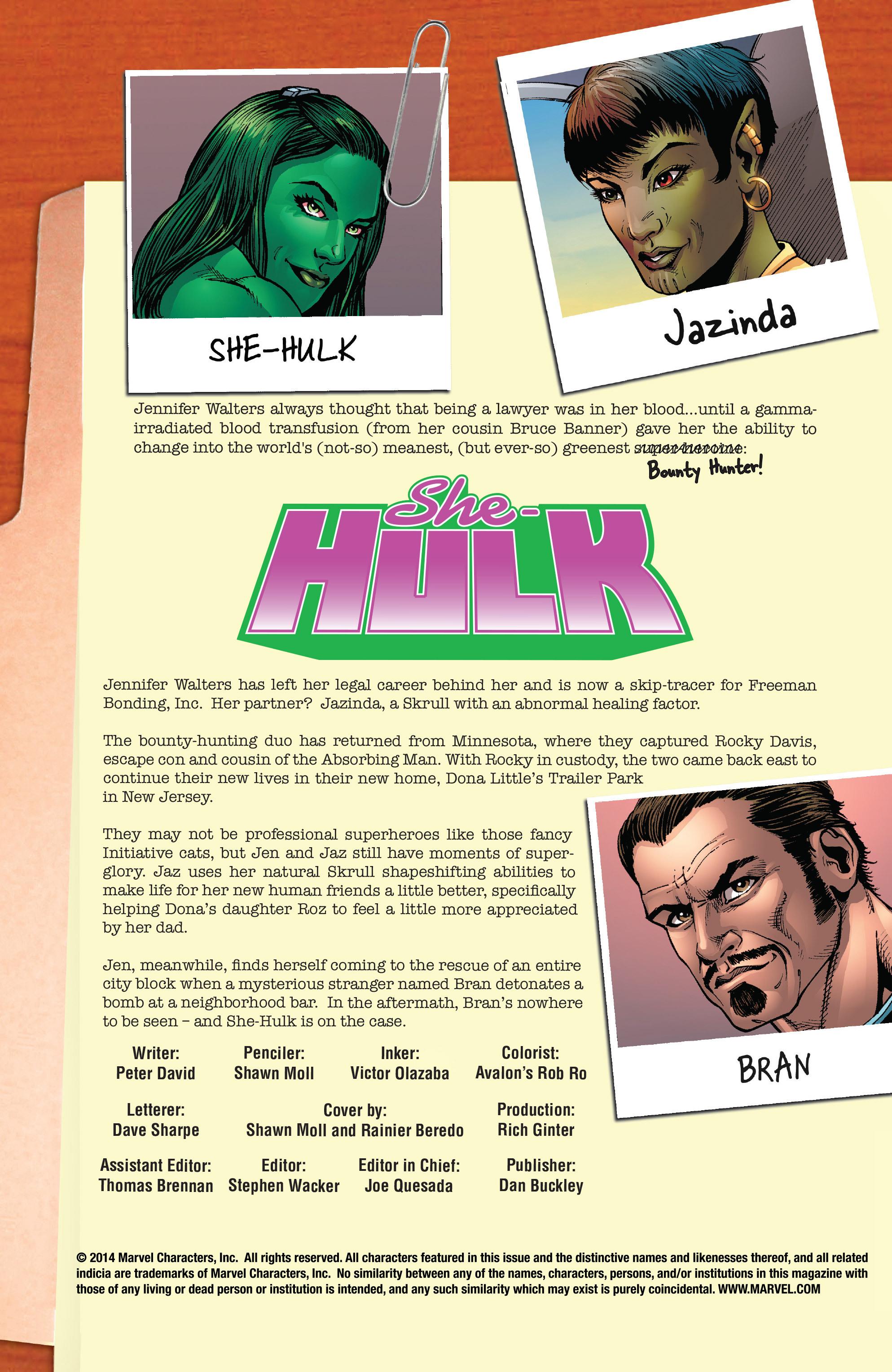 Read online She-Hulk (2005) comic -  Issue #25 - 2