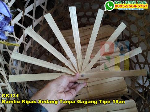 Jual Bambu Kipas Sedang Tanpa Gagang Tipe 18an