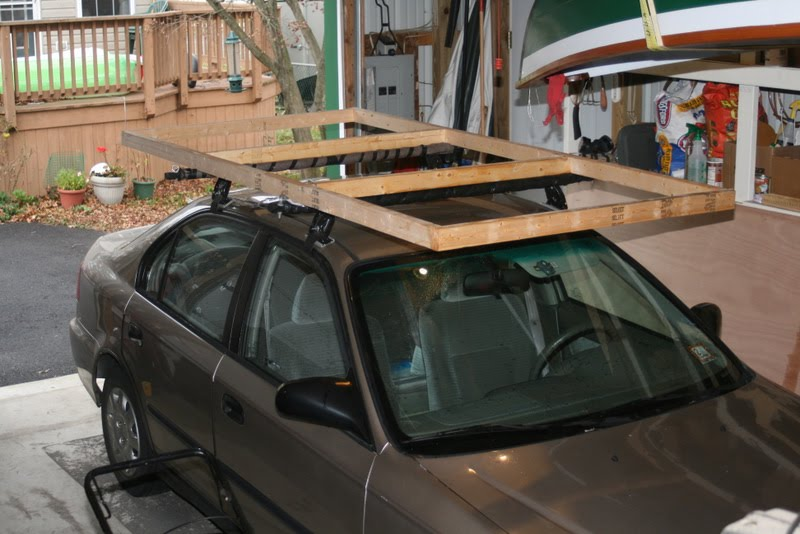 Dave S Notes And Ideas Transporting Thin Plywood On Roof