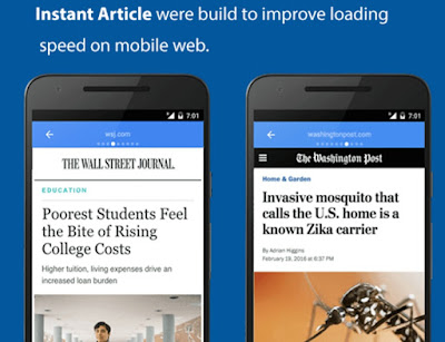 Instant Article Facebook Adalah