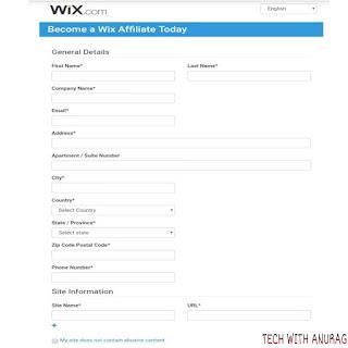 Wix Affiliate Programme से पैसे कैसे कमाए पूरी जानकारी हिंदी में hindimenet.info