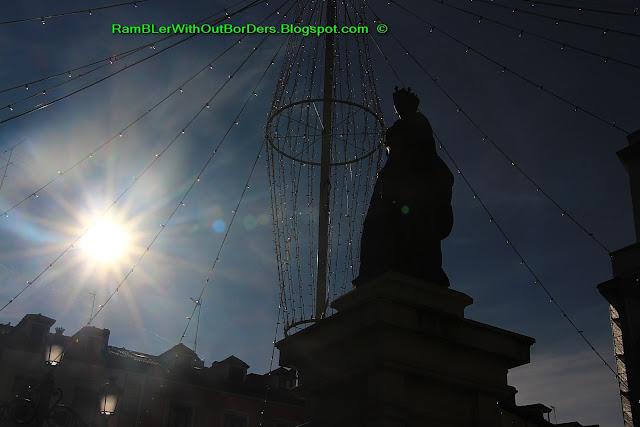 Statue, Isabella II, Plaza Isabella II, Madrid, Spain