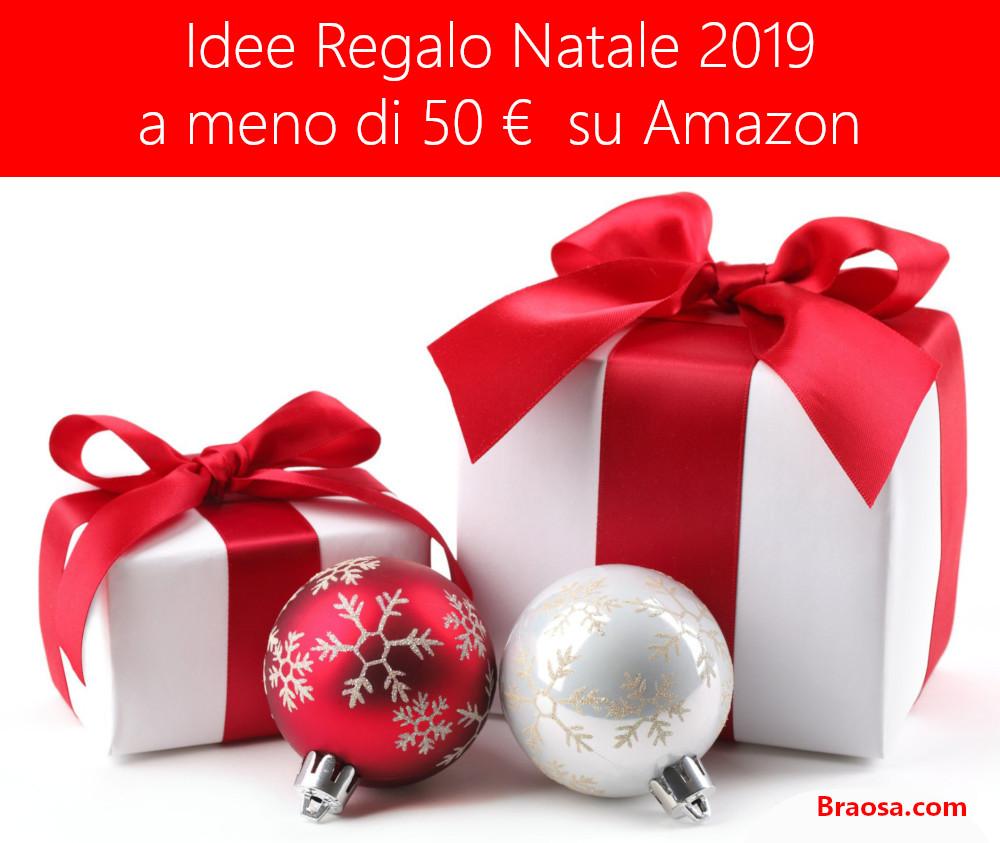 Idee Regalo Natale 2019 a meno di 50 euro su Amazon