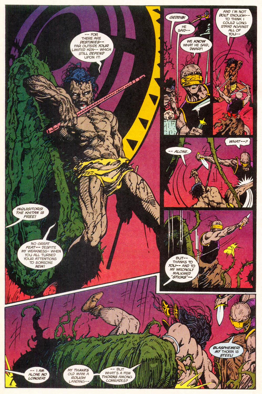 Read online Conan the Adventurer comic -  Issue #11 - 12