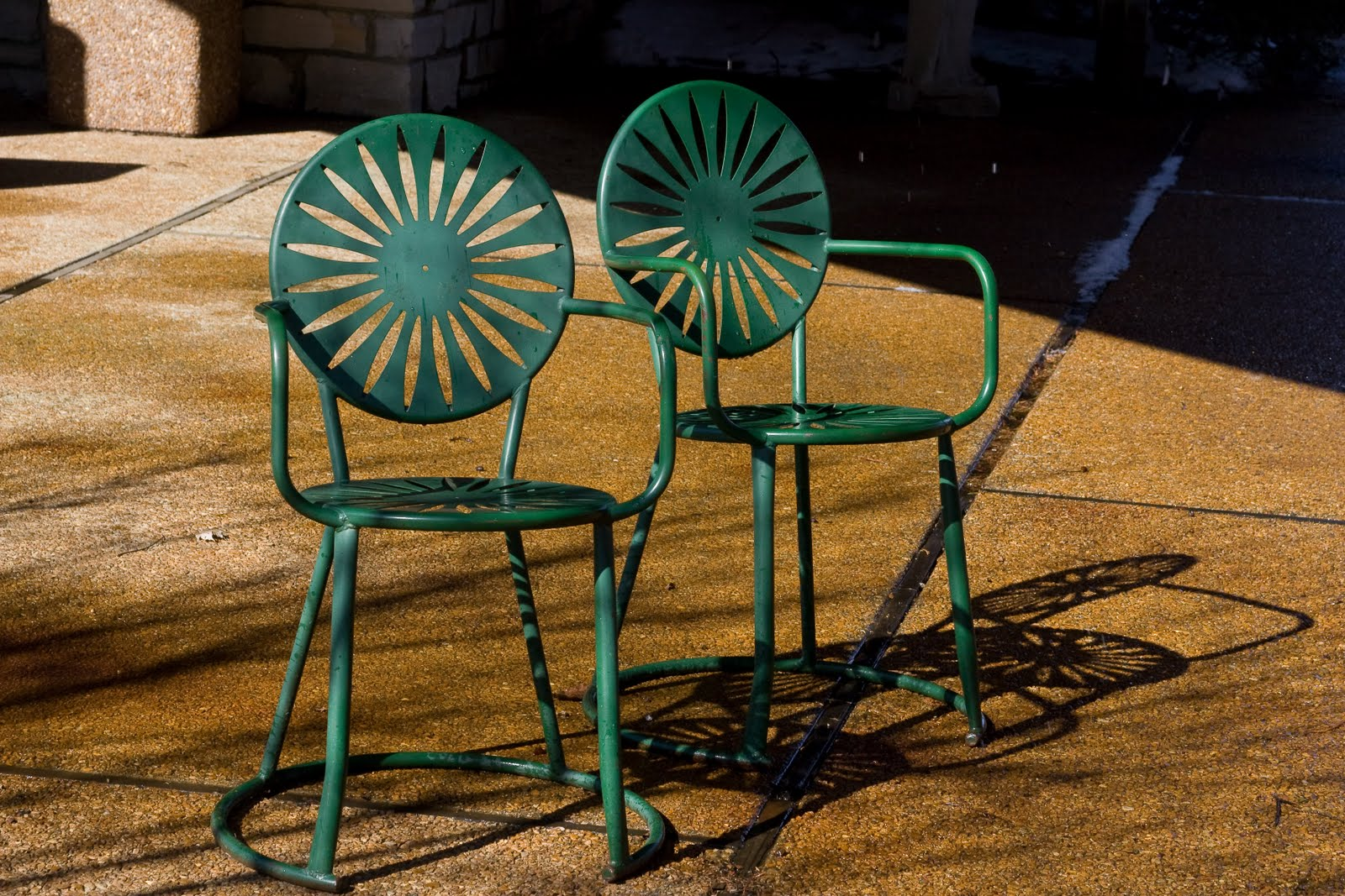 University of Wisconsin Union Terrace Sunburst Chair & Mad for Mid-Century: University of Wisconsin Union Terrace Sunburst ...