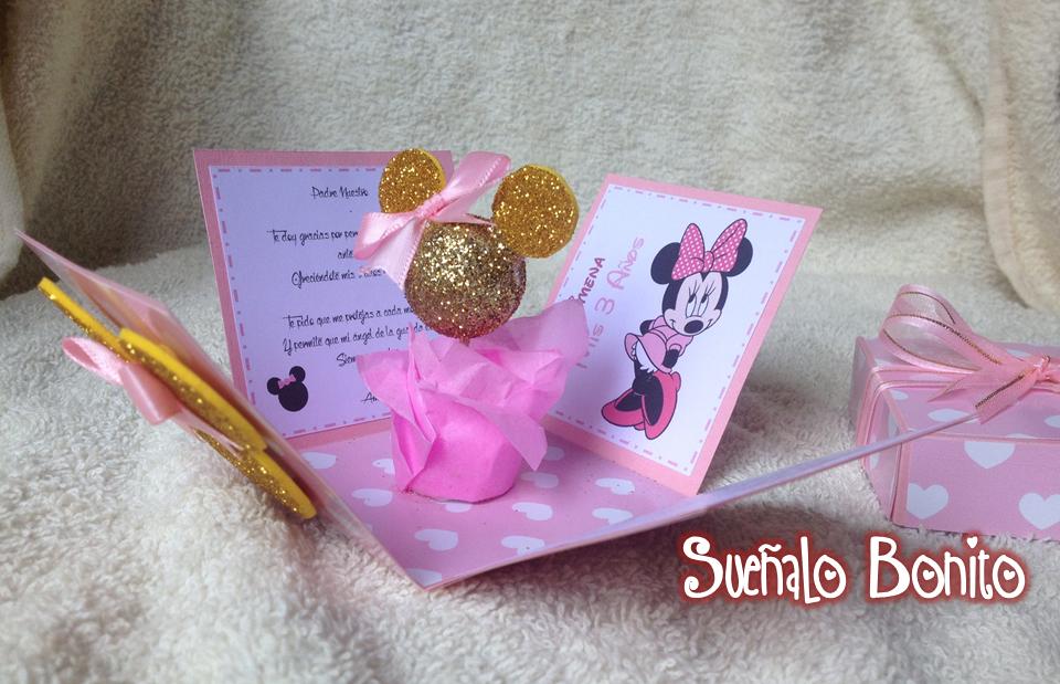 Como Hacer Baby De Para Invitaciones Shower Mouse Minnie