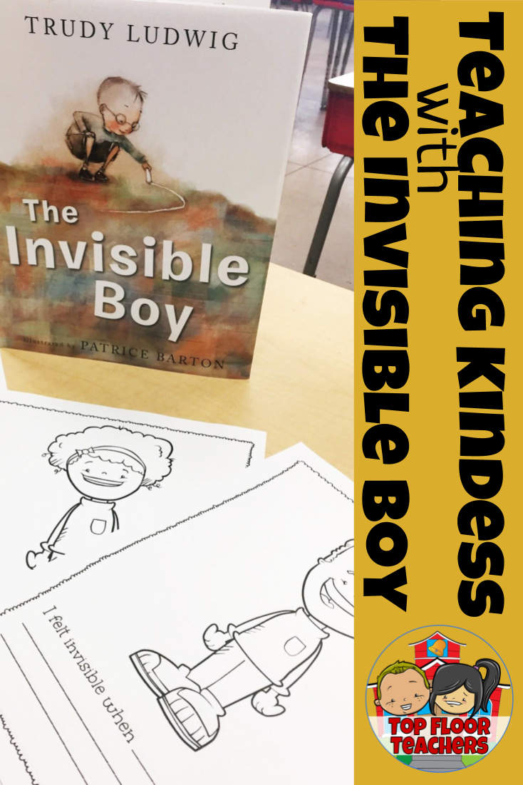 The Invisible Boy Reflection Activity -  This lesson is a valuable follow-up activity after reading the book The Invisible Boy. Children studying empathy and kindness will be able to connect to the story while also having fun!