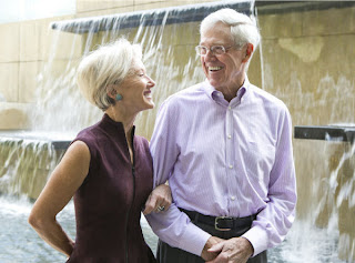 Charles and Elizabeth Koch Combined net worth: $47.4 billion