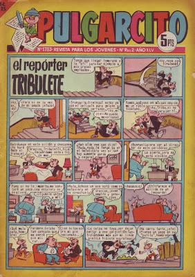 El Reporter Tribulete, Pulgarcito nº 1783