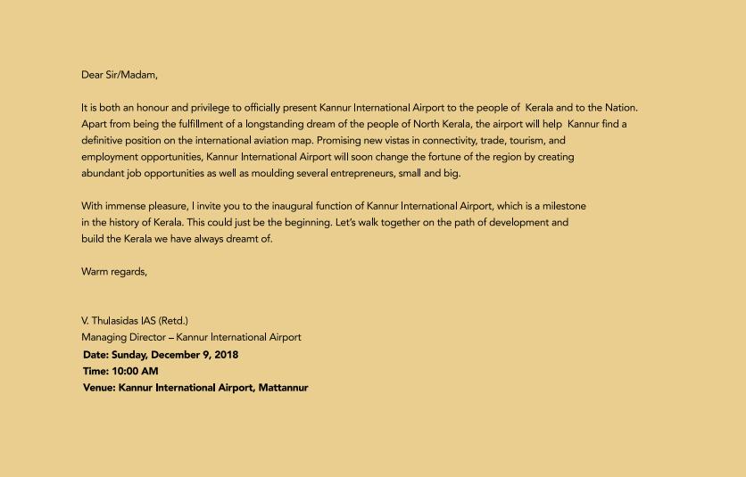 Kannur Updates: Kannur International Airport Inauguration