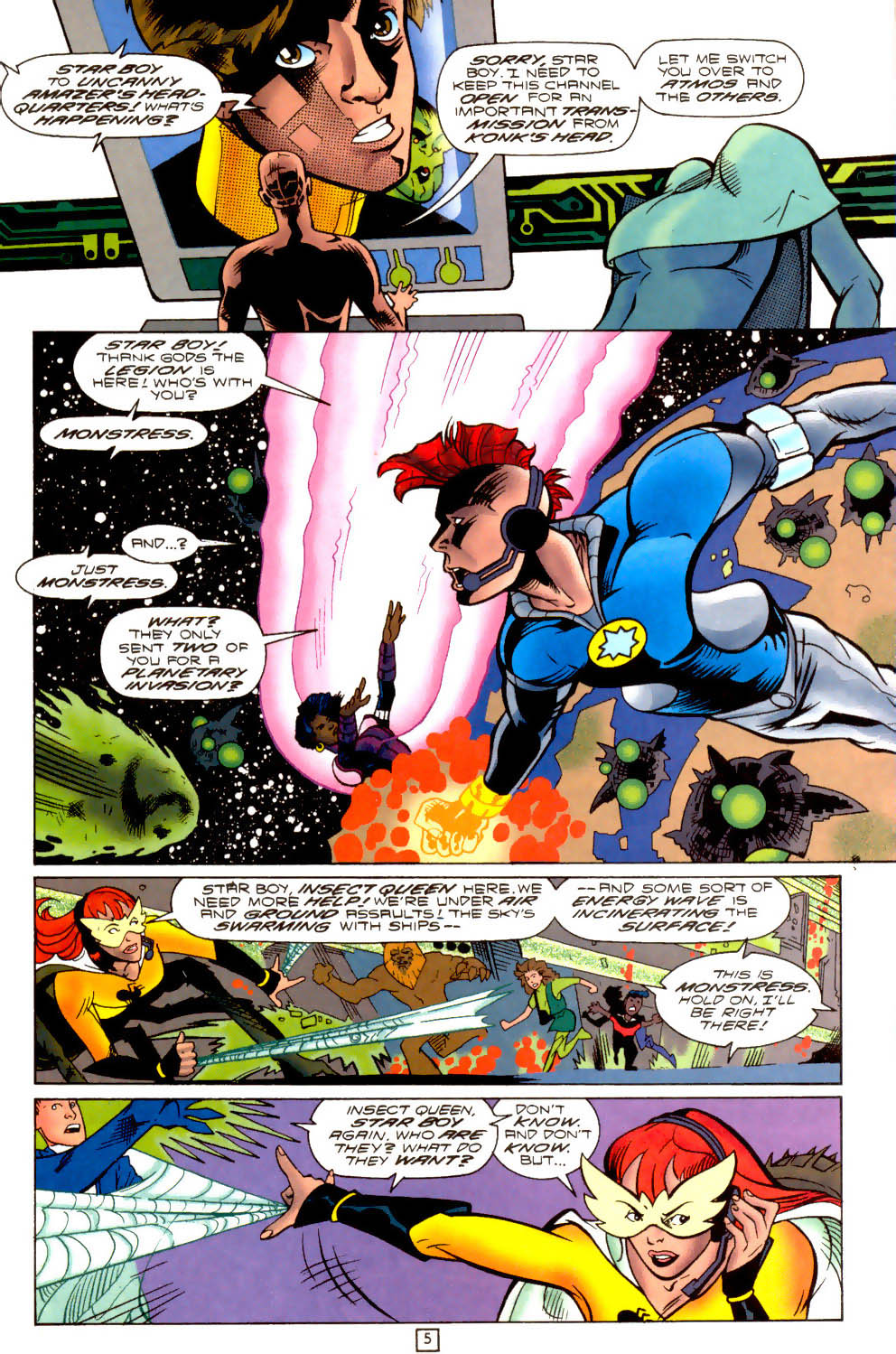 Legion of Super-Heroes (1989) 102 Page 5