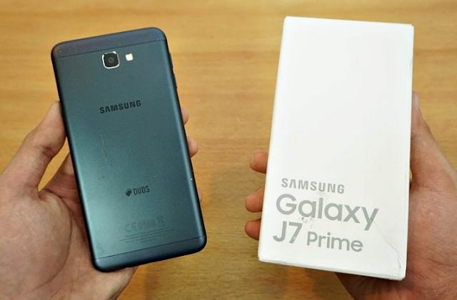 Cara Mengambil Screenshot di Samsung Galaxy J7 Prime