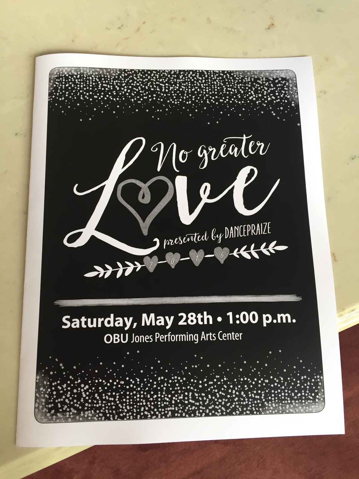 The Crazy Cowart Life: No Greater Love: Dance Recital 2016