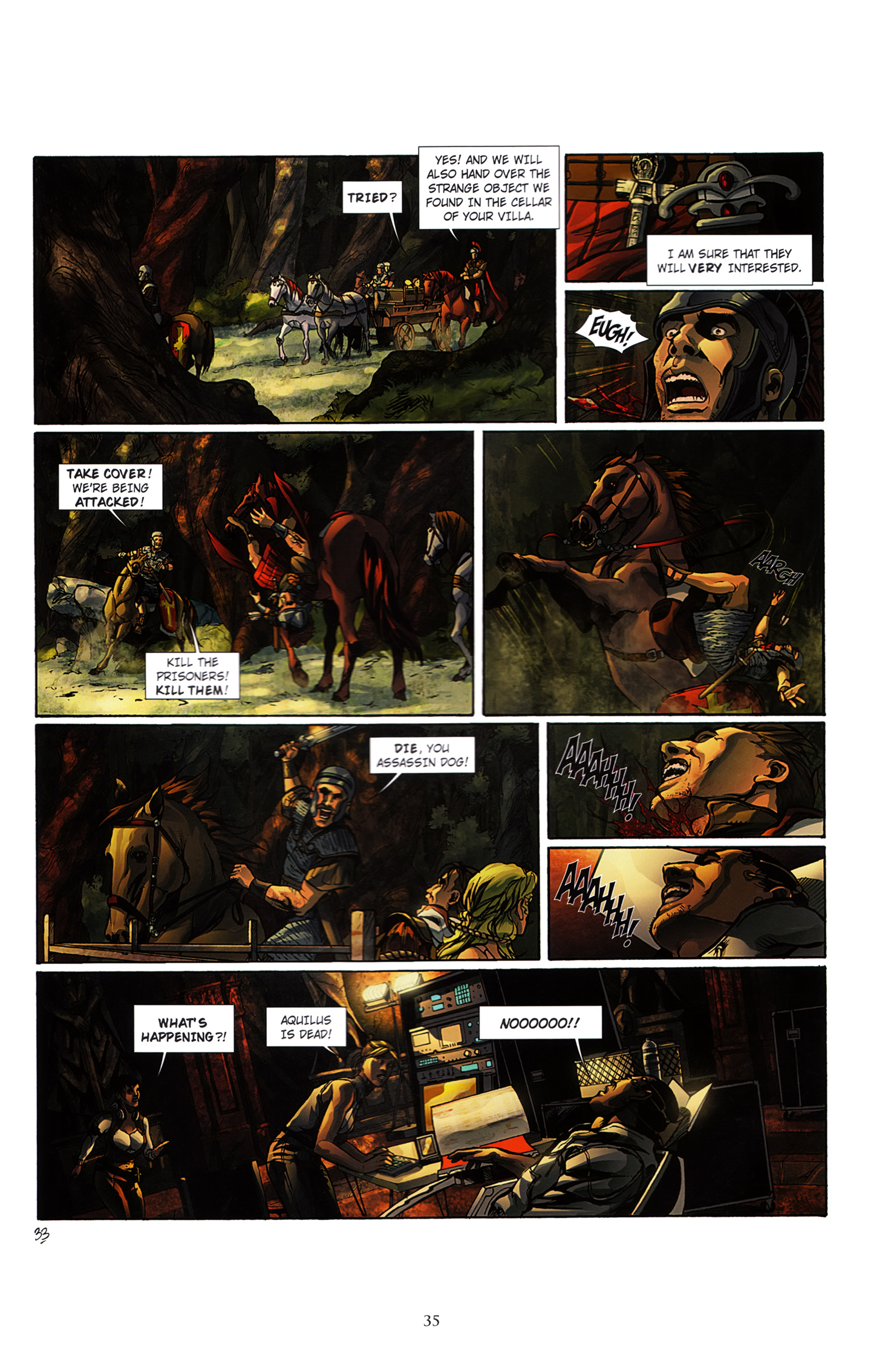 Read online Assassin's Creed (2012) comic -  Issue #3 - 39