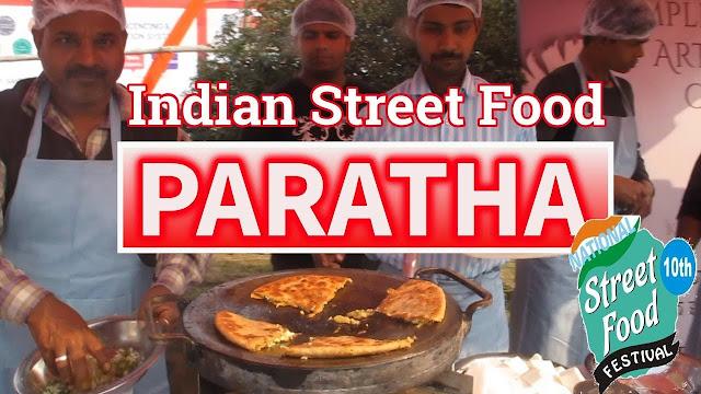 Paratha comida indiana